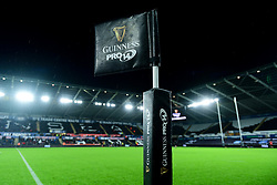 General view prior to kick off - Ryan Hiscott/JMP - 21/12/19 - SPORT - Liberty Stadium - Swansea, Wales - Saturday, Dec 21 2019 - Guinness PRO14 Ospreys vs Cardiff Blues