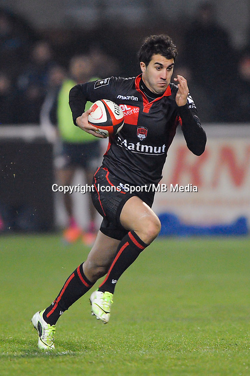 Jerome Porical - 02.01.2015 - Lyon OU / Stade Francais - 15eme journee de Top 14 <br />