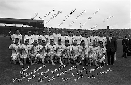 All-Ireland Senior Hurling Final, Kilkenny v Waterford. Waterford Team..01.09.1963