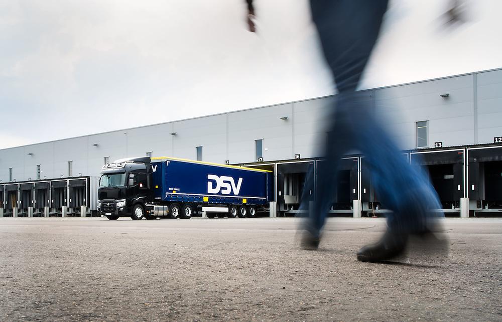 LANGHUS2014-05-23: Pressebilder Renault T lastebil. Fotografert ved DSV terminal, Langhus. FOTO:WERNERJUVIK