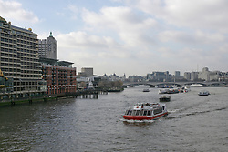 River Thames pleasure boat, London