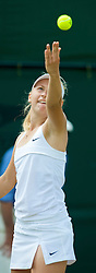 LONDON, ENGLAND - Saturday, June 27, 2009: Daria Gavrilova (RUS) during the Girls' Singles 1st Round match on day six of the Wimbledon Lawn Tennis Championships at the All England Lawn Tennis and Croquet Club. (Pic by David Rawcliffe/Propaganda)