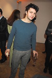 Artist CONRAD SHAWCROSS at the TOD's Art Plus Film Party 2008 hosted by The Whitechapel Art Gallery at a former church at 1 Marylebone Road, London NW1 on 6th March 2008.<br />