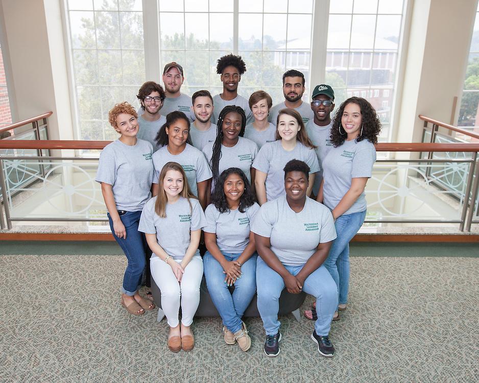 Multicultural Leadership Ambassadors 2016 © Ohio University / Photo by Kaitlin Owens