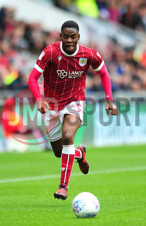 Jonathan Leko of Bristol City - Mandatory by-line: Dougie Allward/JMP - 21/10/2017 - FOOTBALL - Ashton Gate Stadium - Bristol, England - Bristol City v Leeds United - Sky Bet Championship