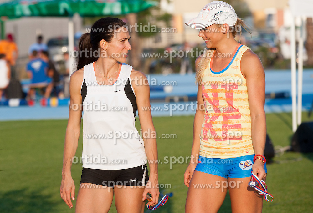 Marija Sestak and Snezana Rodic during Day 1 of Slovenian Athletics National Championships 2012, on July 7, 2012 in Koper, Slovenia.  (Photo by Vid Ponikvar / Sportida.com)