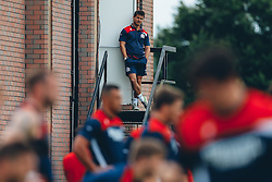 Head of Communications Tom Tainton looks on as Bristol Rugby return to training ahead of their 2016/17 Aviva Premiership campaign - Mandatory byline: Rogan Thomson/JMP - 15/07/2016 - RUGBY UNION - Clifton Rugby Club - Bristol, England - Bristol Rugby Pre Season Training.