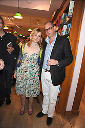 Writer CHARLOTTE EAGAR and WILLIE STIRLING at a party to celebrate the publication of Charlotte Eagar's book'The Girl in the Film'held at the Daunt Bookshop, Holland Park Avenue, London on 10th July 2008.NON EXCLUSIVE - WORLD RIGHTS