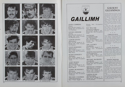 All Ireland Senior Hurling Championship Final, .04.09.1988. 09.04.1988, 4th September 1988,.4091988AISHCF,.Galway 1-15, Tipperary 0-14,.Galway v Tipperary, .