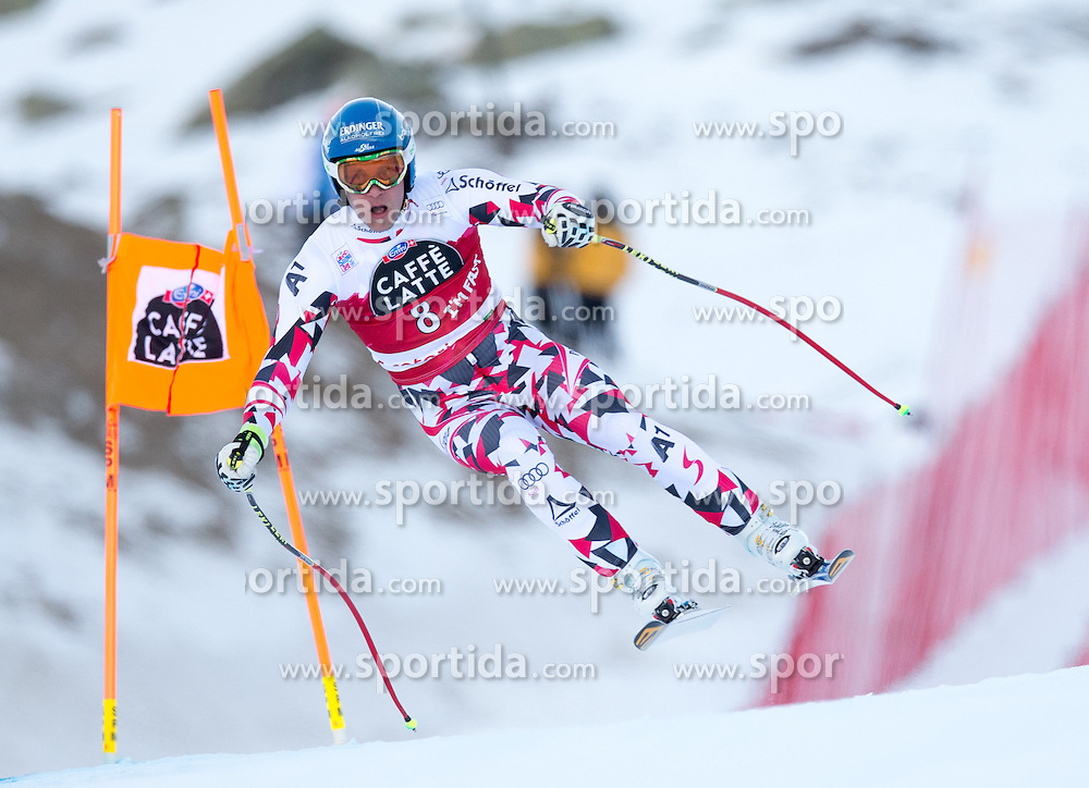 28.12.2015, Deborah Compagnoni Rennstrecke, Santa Caterina, ITA, FIS Ski Weltcup, Santa Caterina, Abfahrt, Herren, 2. Training, im Bild Romed Baumann (AUT) // Romed Baumann of Austria in action during the 2nd practice run of men's Downhill of the Santa Caterina FIS Ski Alpine World Cup at the Deborah Compagnoni Course in Santa Caterina, Italy on 2015/12/28. EXPA Pictures © 2015, PhotoCredit: EXPA/ Johann Groder
