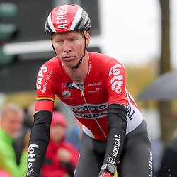 MUNSTER (GER) cycling  The last international race of the German cycling season is the Sparkasse Munsterland Giro. The start in 2016 was in Gronau and the finish after 20o km in Munster. Marcel Sieberg job done