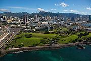 Honolulu Harbor, Oahu, Hawaii