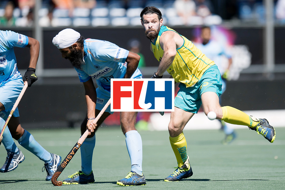 BREDA - Rabobank Hockey Champions Trophy<br /> Final Australia - India<br /> Photo: Trent Mitton.<br /> COPYRIGHT WORLDSPORTPICS FRANK UIJLENBROEK