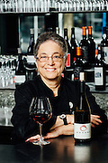 Portrait of Maxine Reifer Borcherding at the Oregon Culinary Institute featuring Brook Wine