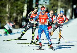 KRCMAR Michal (CZE) competes during Men 12,5 km Pursuit at day 3 of IBU Biathlon World Cup 2014/2015 Pokljuka, on December 20, 2014 in Rudno polje, Pokljuka, Slovenia. Photo by Vid Ponikvar / Sportida