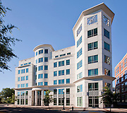 Architectural Photography of Rockville MD offce building 21 Church Street by Jeffrey Sauers of Commercial Photographics