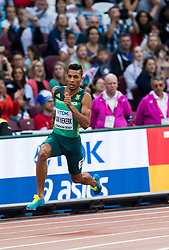 06-08-2017 IAAF World Championships Athletics day 4, London<br /> Wayde van Niekerk RSA 200 meter