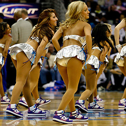 Dec 16, 2009; New Orleans, LA, USA; New Orleans Hornets Honeybees dancers perform during a game between the New Orleans Hornets and the Detroit Pistons at the New Orleans Arena. Mandatory Credit: Derick E. Hingle-US PRESSWIRE