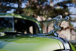 7 August 2010: 1941 Packard. Antique Car show, David Davis Mansion, Bloomington Illinois