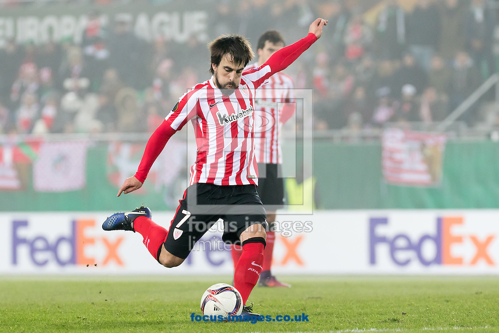 Benat Etxebarria of Athletic Bilbao during the UEFA Europa League match at Allianz Stadion, Vienna<br /> Picture by EXPA Pictures/Focus Images Ltd 07814482222<br /> 08/12/2016<br /> *** UK &amp; IRELAND ONLY ***<br /> <br /> EXPA-PUC-161208-0298.jpg