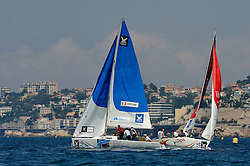 Bruni and Radich in the quarter finals. Photo: Chris Davies/WMRT