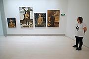 Athens, Greece. Opening days of documenta14.<br /> EMST, National Museum Of Contemporary Art.<br /> Piotr Uklański and McDermott & McGough: The Greek Way.