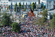 Galway celebrate win over Waterford in Eyre SQ17
