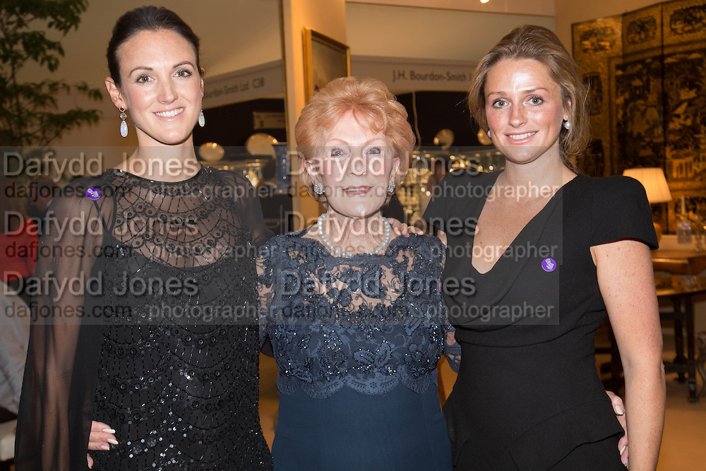 AMELIA SUGDEN; LADY JARVIS; LUCINDA AITKEN, Art Antiques London Party in the Park, in aid of Great Ormond Street Hospital Childrens Charity. Kensington Gdns opposite the Albert Hall. London. 11 June 2013.