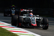 September 2, 2016: Romain Grosjean (FRA), Haas , Italian Grand Prix at Monza