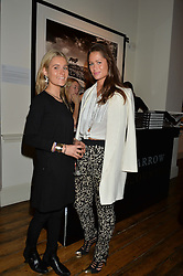 Left to right, OLIVIA FRANKLIN and LEXI BOWES LYON at a private view of photographs by renowned wildlife photographer David Yarrow in aid of TUSK entitled 'Wild Encounters' held at Somerset House on 19th September 2016.