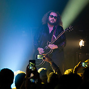 My Morning Jacket, fronted by singer Jim James, peform at Verizon Theatre in Grand Prarie. (Special to the Star-Telegram/Rachel Parker)
