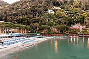 Liguria, Porto Fino, la apiaggia di Paraggi