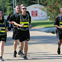 LIBBY EZELL | BUY AT PHOTOS.DJOURNAL.COM<br /> Members of the Army joined in Jackson's 5k Saturday in Verona