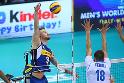 IVAN ZAYTSEV<br /> <br /> Italy vs Slovenia<br /> Volleyball men's world championship <br /> Florence September 18, 2018
