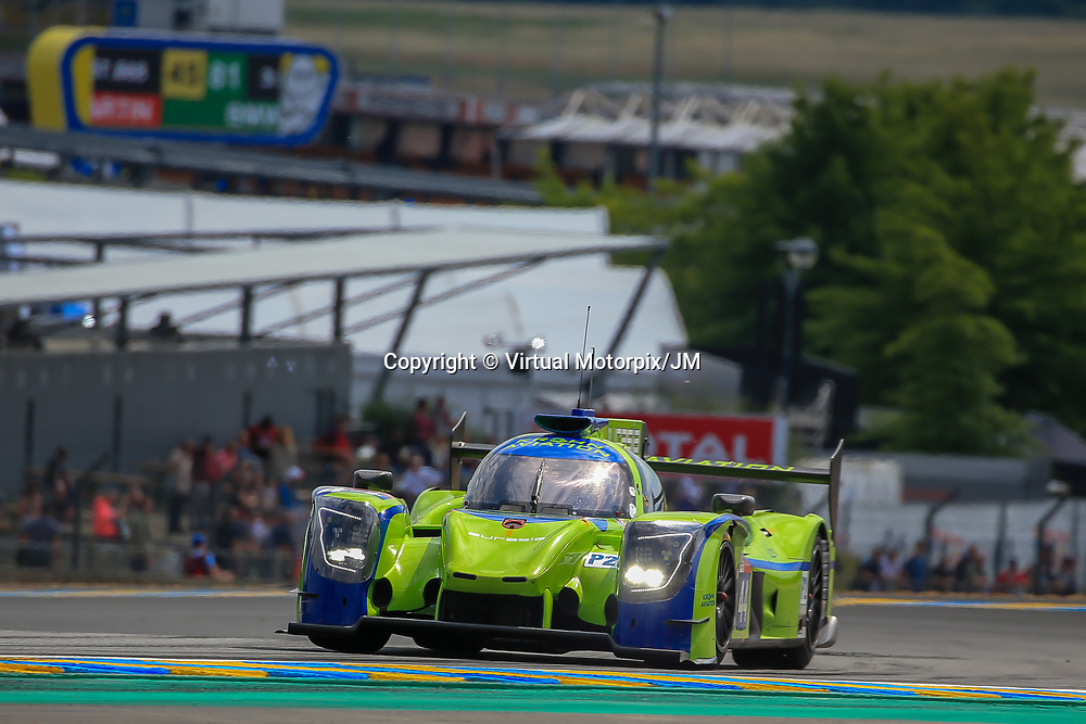 #44, Eurasia Motorsport, Ligier JSP217-Gibson, LMP2, driven by: Andrea Bertolini, Niclas Jonsson, Tracy Krohn, 24 Heures Du Mans  2018, , 13/06/2018,