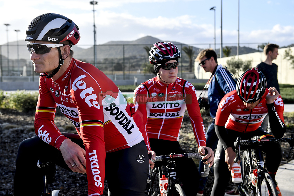 December 15, 2017 - Majorca, SPAIN - German Andre Greipel of Lotto Soudal pictured during a press day during Lotto-Soudal cycling team stage in Mallorca, Spain, ahead of the new cycling season, Friday 15 December 2017. BELGA PHOTO DIRK WAEM (Credit Image: © Dirk Waem/Belga via ZUMA Press)