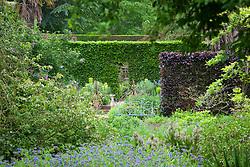 View towards Mrs Winthrop's Garden at Hidcote Manor