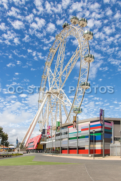 Melbourne Star Observation Wheel at The District Docklands