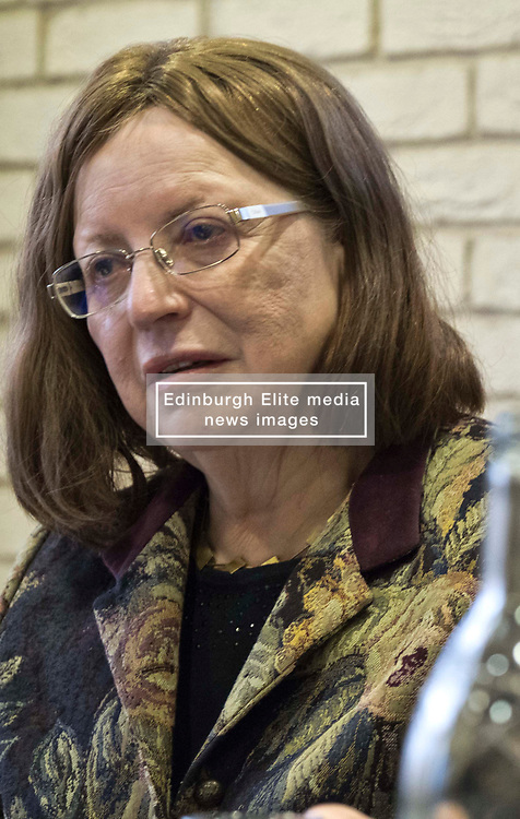 Pictured: Dame Susan Rice, Scottish Fiscal Commission chair <br /> <br /> The Scottish Fiscal Commission team, led by Dame Susan Rice, met journalists today and gave a short presentation on their five-year economic forecasts following the Scottish budget announcement.<br /> <br /> Ger Harley | EEm 13 December 2018