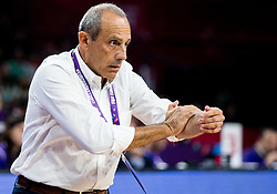 Ettore Messina, head coach of Italy during basketball match between National Teams of Finland and Italy at Day 10 in Round of 16 of the FIBA EuroBasket 2017 at Sinan Erdem Dome in Istanbul, Turkey on September 9, 2017. Photo by Vid Ponikvar / Sportida