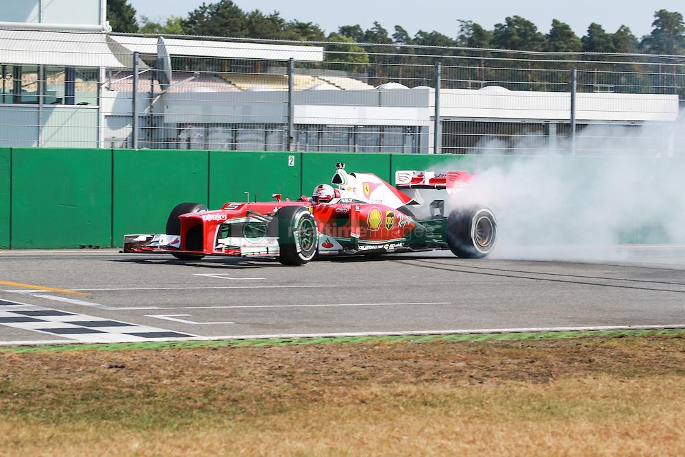 Sebastian Vettel (GER#5), Scuderia Ferrari bei den Ferrari Racing Days am Hockenheimring 2016<br /> <br /> / 110916<br /> <br /> <br /> ***Ferrari Racing Days on September 11, 2016 at Hockenheimring, Germany.***