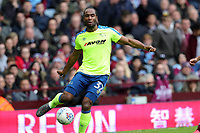 Aston Villa v Derby County - Sky Bet Championship<br /> BIRMINGHAM, ENGLAND - APRIL 28 :  Derby County's Cameron Jerome gets on the ball at Villa Park