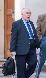 "© Licensed to London News Pictures. 27/03/2019. Bristol, UK. DONALD COOPER, aged 67, at Bristol Crown Court for sentencing after he pleaded guilty at a previous hearing at Bristol Magistrates Court to eight charges of outraging public decency between May 2016 and July 2017, with 100 offences to be taken into consideration. Cooper was caught when he ""upskirted"" a woman in a Tesco store who was an off duty police officer when he put his phone in a shopping basket and filmed her. The off duty police officer who was shopping with her daughter realised what he was doing and detained him and called police. Upskirting involves perpetrators using cameras to take images or video up victims' clothing without their consent, to see their underwear or genitals. In January 2019 the House of Lords approved new legislation which comes into effect this year to make upskirting a specific criminal offence, following a campaign by Gina Martin who was upskirted at a music festival in 2017. Under the new legislation police will be able to arrest people on suspicion of upskirting from April 2019, and perpetrators could be jailed for up to two years. Photo credit: Simon Chapman/LNP"