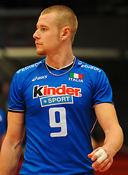 17.09.2011, Stadthalle, Wien, AUT, CEV, Europaeische Volleyball Meisterschaft 2011, Halbfinale, Italien vs Polen, im Bild Ivan Zaytsev, (ITA, #9, Wing-Spiker) // during the european Volleyball Championship Semi Final Italy vs Poland, at Stadthalle, Vienna, 2011-09-17, EXPA Pictures © 2011, PhotoCredit: EXPA/ M. Gruber