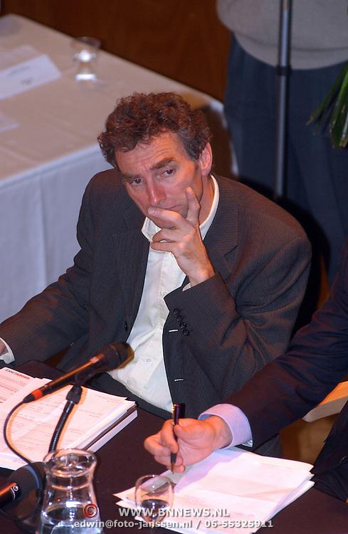 Lijsttrekkersdebat Ouderen, fractievoorzitter GroenLinks Paul Rosenmöller