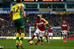 Kasey Palmer of Bristol City sprints forward - Mandatory by-line: Phil Chaplin/JMP - FOOTBALL - Carrow Road - Norwich, England - Norwich City v Bristol City - Sky Bet Championship