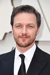 James McAvoy walking the red carpet as arriving to the 91st Academy Awards (Oscars) held at the Dolby Theatre in Hollywood, Los Angeles, CA, USA, February 24, 2019. Photo by Lionel Hahn/ABACAPRESS.COM