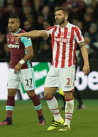 Football - 2016 / 2017 Premier League - West Ham United vs. Stoke City<br /> <br /> Phillip Bardsley of Stoke City at The London Stadium.<br /> <br /> COLORSPORT/DANIEL BEARHAM
