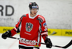 06.04.2012, Stadthalle, Villach, AUT, IIHF, Division I A WM, Vorbereitung, Oesterreich vs Weissrussland, im Bild Patrick Obrist (AUT) // during the IIHF Division One A World Championship preparation Match, between Austria and Belarus at the Cityhall Villach, Austria on 2012/04/06. EXPA Pictures © 2012, PhotoCredit: EXPA/ Oskar Hoeher.