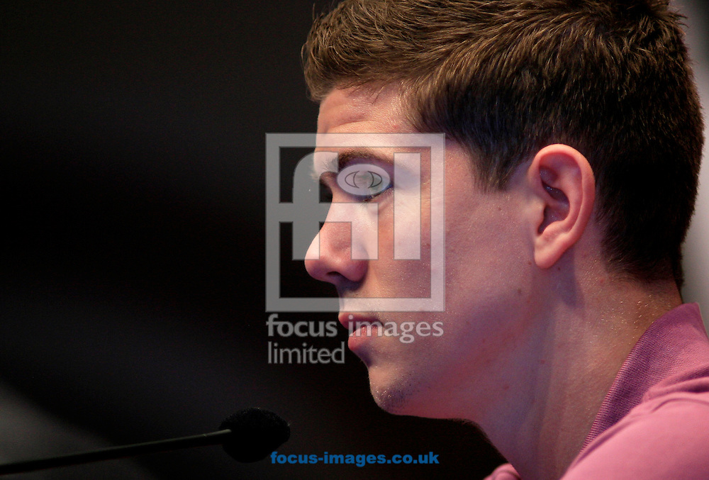Picture by Richard Gould/Focus Images Ltd +447814 482222.24/04/2013.Luke Campbell talks about turning pro at his Press Conference at Hull City Hall, Hull.